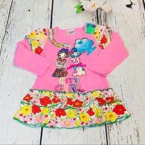 Toddler Girls Dress Shirt
